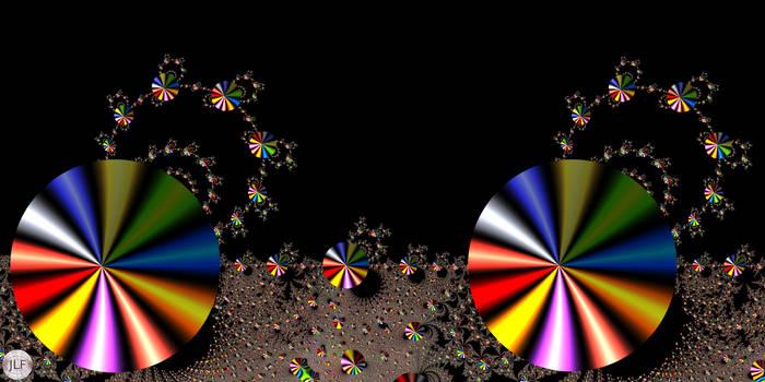 JLF2893 Shiny Discs Structure