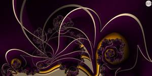 JLF2913 Outlines on Purple