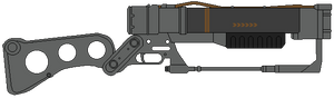 Fallout AER9 laser rifle