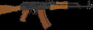 AK-74 by DaltTT