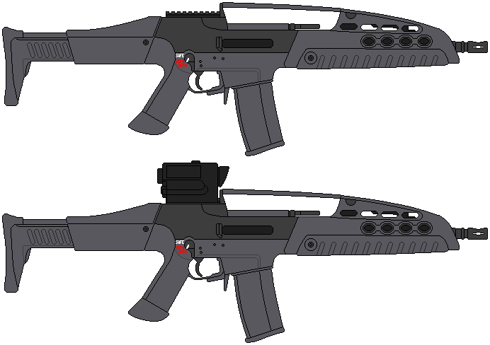 US Army Rifle XM8 by D...