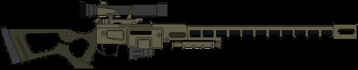 Fallout Sniper Rifle
