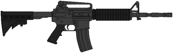 US Army Carbine M4 by DaltTT