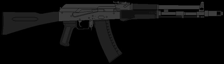 AK-107 by DaltTT