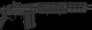 US Navy Mk14M1 EBR