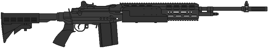 US Navy Mk14M1 EBR by DaltTT