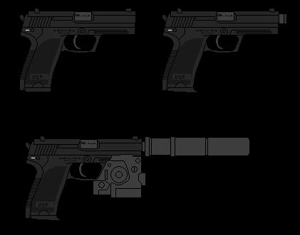 pistol wallpaper