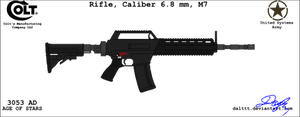 Colt M7 Assault rifle