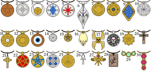 AoD Amulets