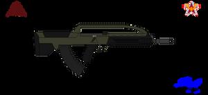 TOZ AS-113 Assault rifle by DaltTT