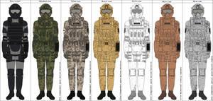 RE Combat Space Suit