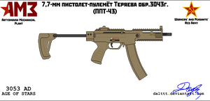 AMP PPT-43 SMG by DaltTT