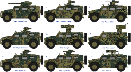 SAZ-42891 Lynx Remote weapon stations