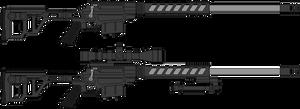 Lobaev TSLV-8 Stalingrad sniper rifle