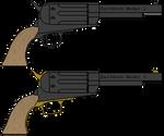 AoA Eastwood Model 1 Revolver by DaltTT