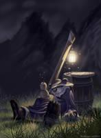 The Pandaren Brewmaster by BobGarvinArt