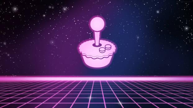 RetroPie Splashscreen-1980s Retro-NeonPie