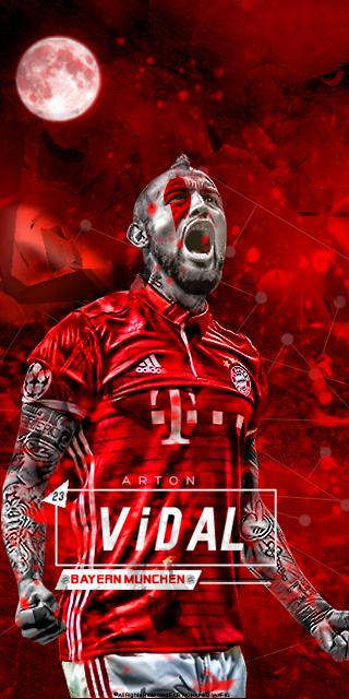 ARTON VIDAL FC Bayern Munich WALLPAPER PHONE By MWafiq 10