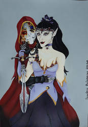 Jack of Blades and Demiria