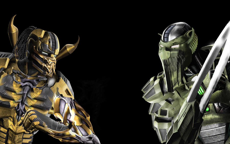 Image Gallery mortal kombat cyber characters