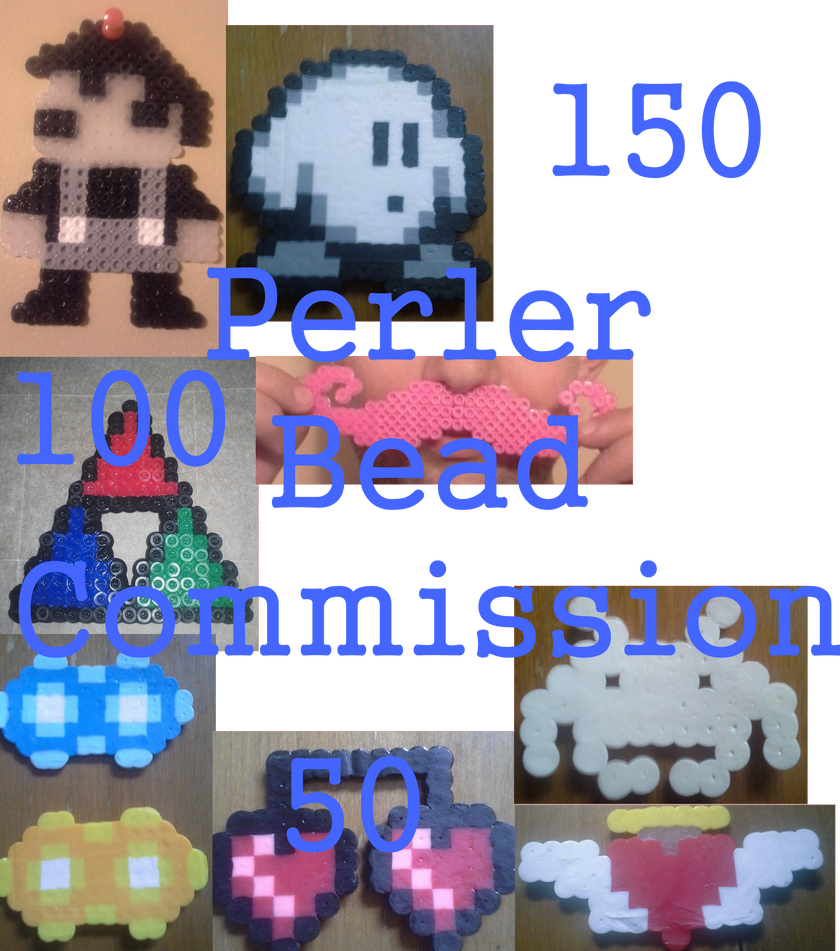 Perler Bead Point Commission