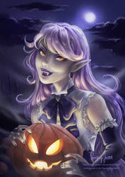 Pumpkin Vampire by Surkuhupainen