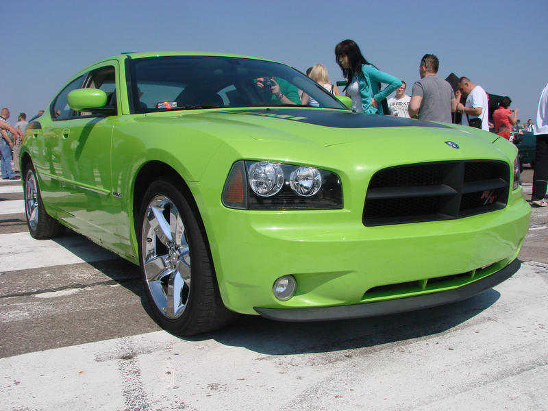 New Green Dodge Charger Rt By Byrek On Deviantart