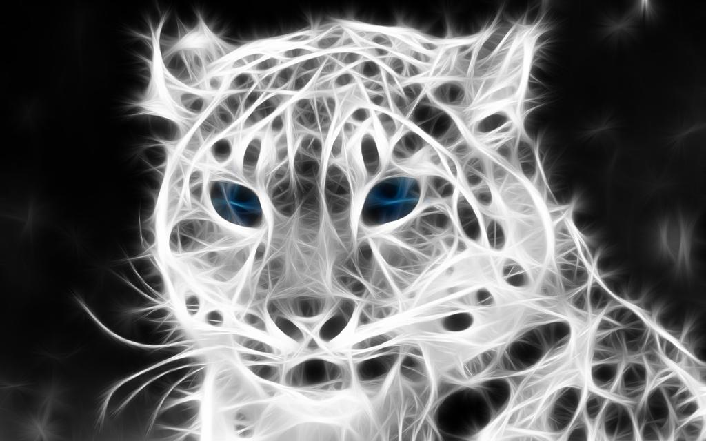 Fracted Snow Leopard 3 by Byrek