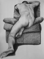 Another figure drawing - male by GlennT59