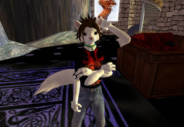 My Fursona in Second Life by MarioLinkFan