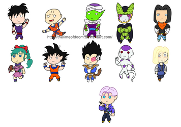 Dragon Ball Z chibis