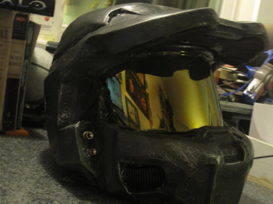 my halo helmet by Avatar67