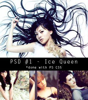 PSD1 - Ice Queen by xSaturnGirlx