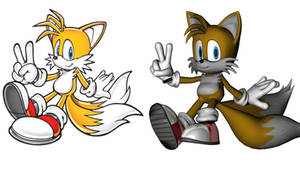 Tails' new dimension