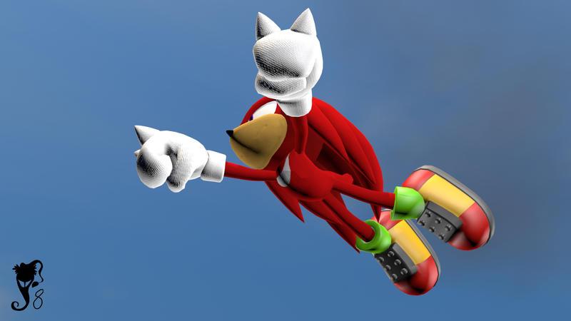 Flying Knuckles by SantaJack8