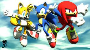 Sonic Heroes Reloaded by SantaJack8