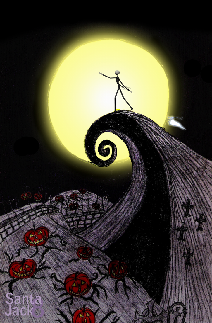 tim burtons the nightmare before christmas by santajack8 - Tim Burtons The Nightmare Before Christmas