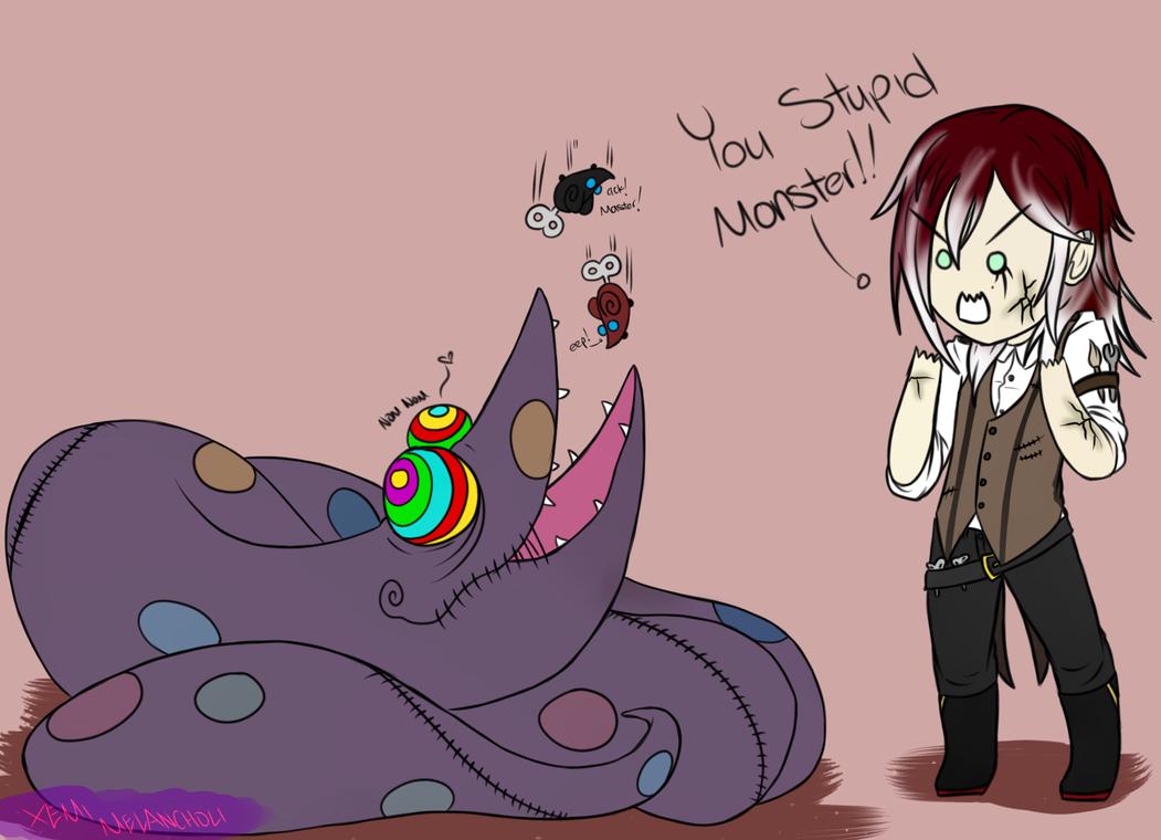 You Monster by 4EaredSenpai