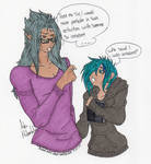 Not Exactly by MelancholicDraws