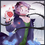 Save her - Garry from Ib by Sharpreria