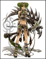 Fantasy fighter I by AngELofREbellion