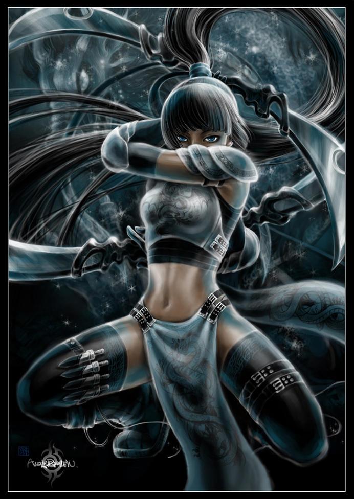 FFIV: dragon girl by AngELofREbellion