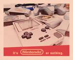 Nintendo vintage poster