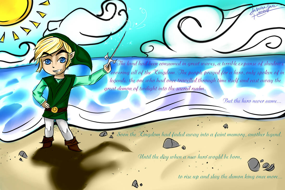 The One Who Saved the Land of Waves by Cronaj on DeviantArt