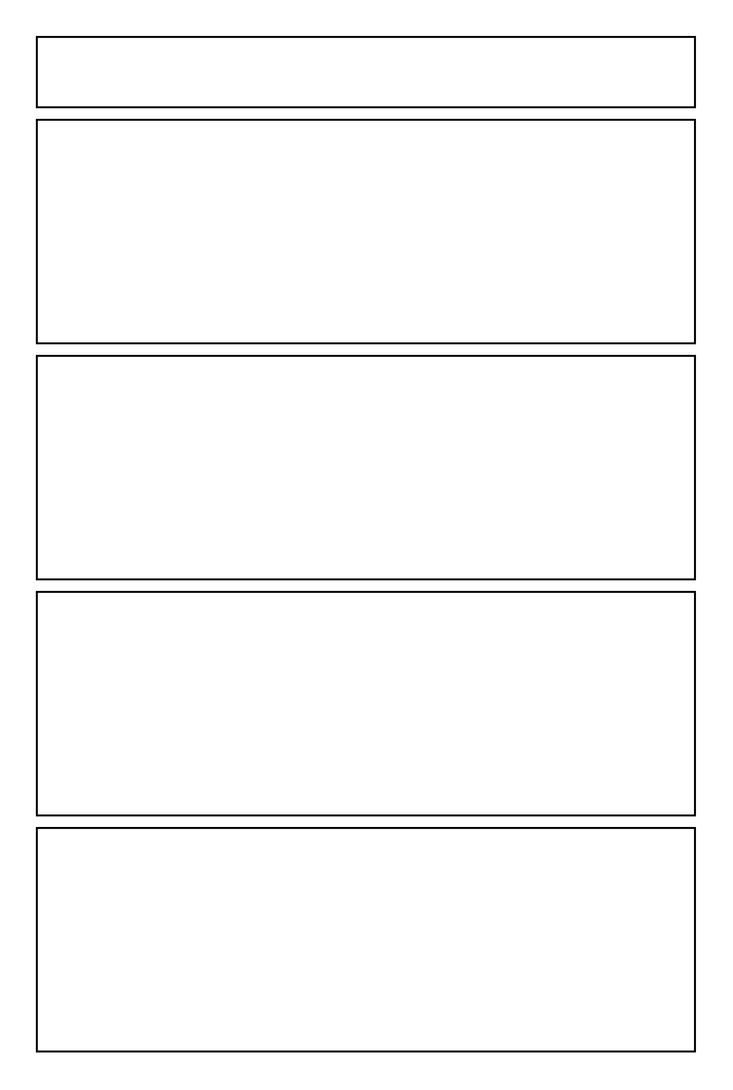 Wide Panel Yonkoma Template by cronasonlyfriend on DeviantArt