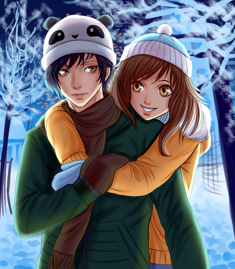 Winter Romance by Cronaj