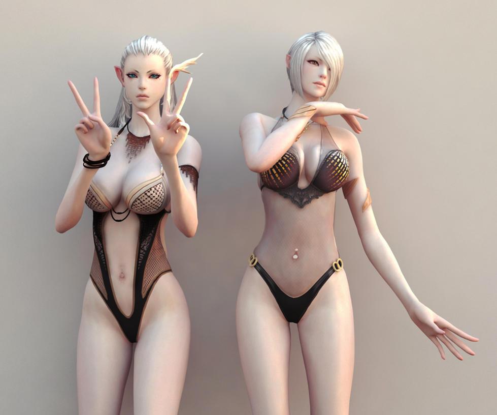 Tera online high elf nude mod erotic video