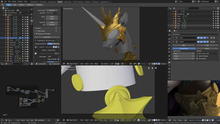 Angerlestia WIP2 3D remake by Fluffyrescent