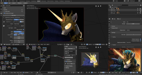 Angerlestia WIP3 3D remake by Fluffyrescent