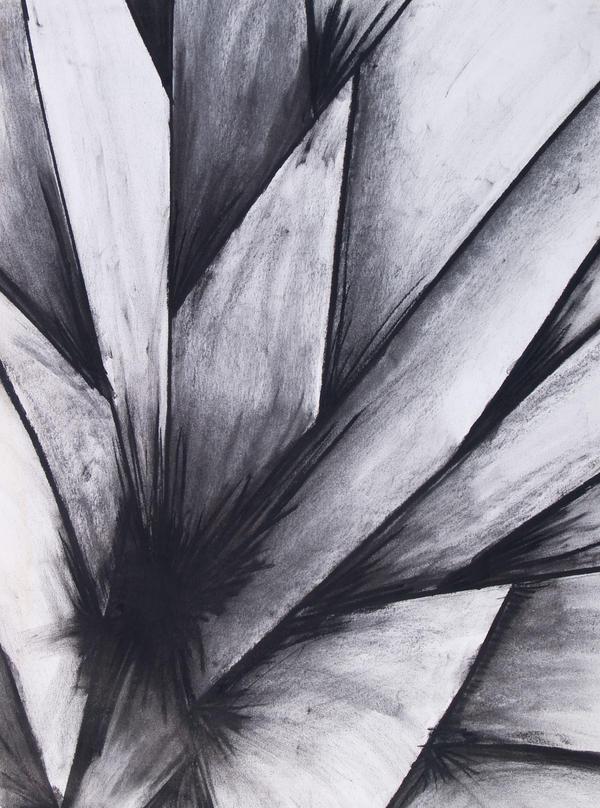 Abstract leaf by adasha